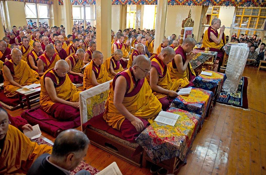 Los monjes tibetanos apuestan por la ciencia