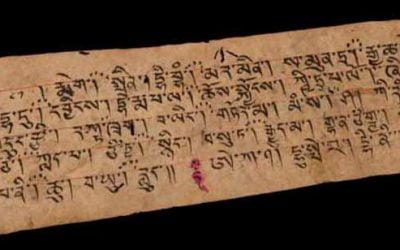 Familiarizarse con el alfabeto tibetano