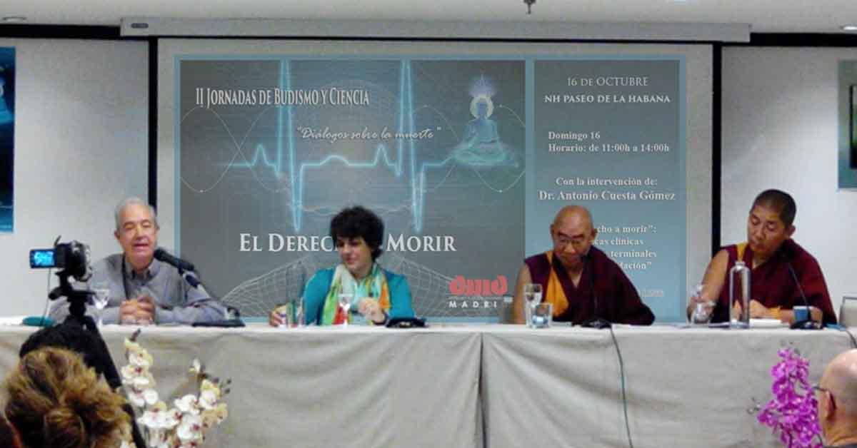 Concluyen las II Jornadas de Budismo y Ciencia