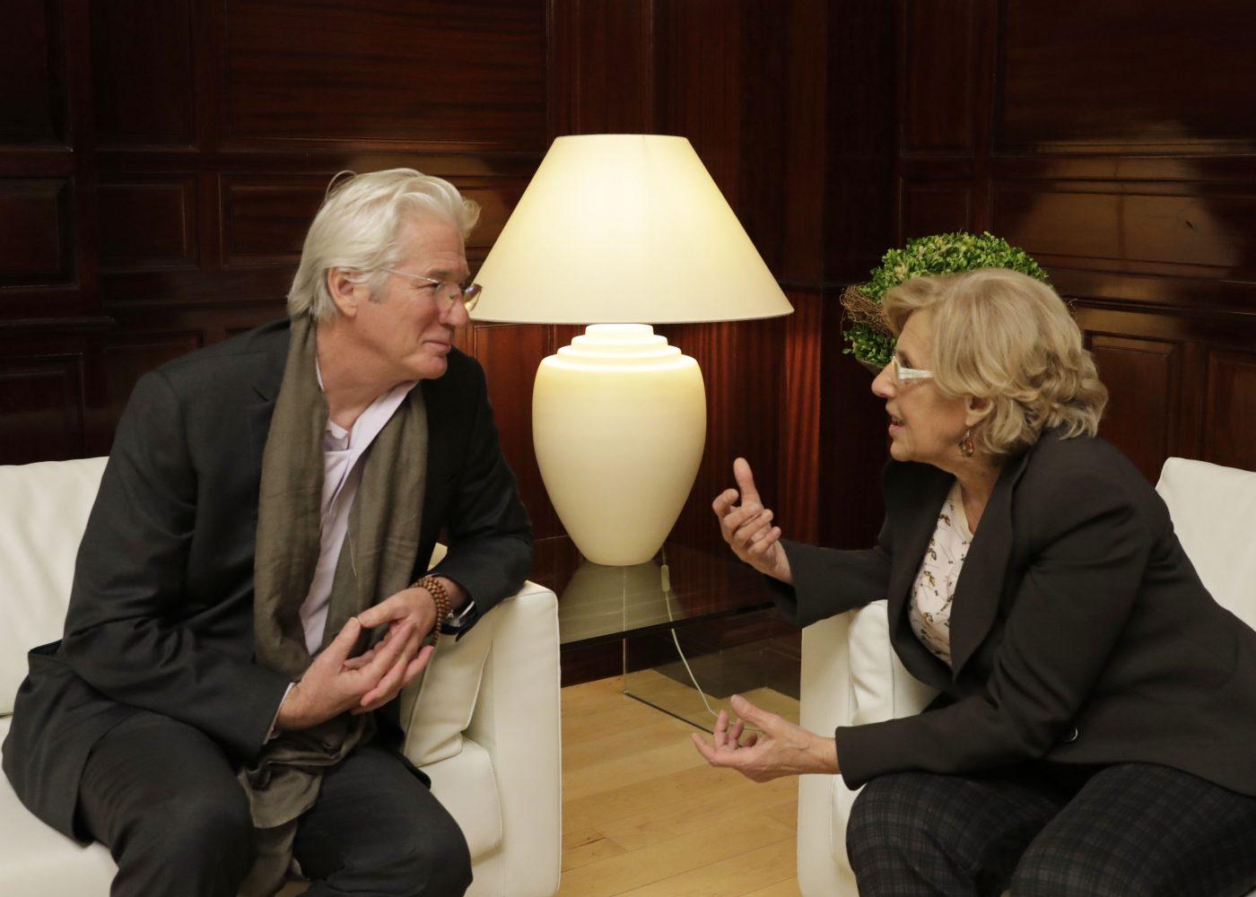 El Ayuntamiento de Madrid pide a Richard Gere que invite al Dalai Lama a su Foro para la Paz