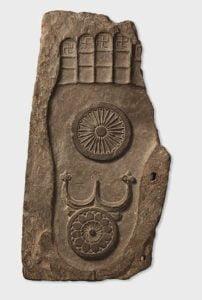 La Huella del pie de Buda