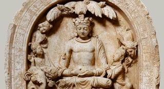 Arte de Gandhara.Buda Sakyamuni