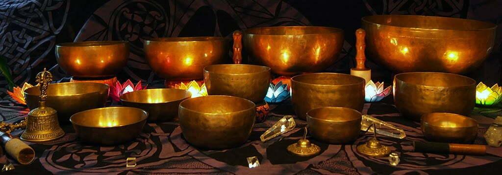 Cuencos tibetanos. El sonido del budismo