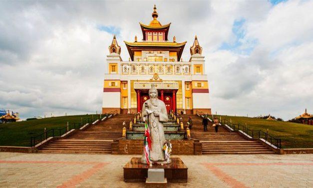 El santuario budista más grande Europa
